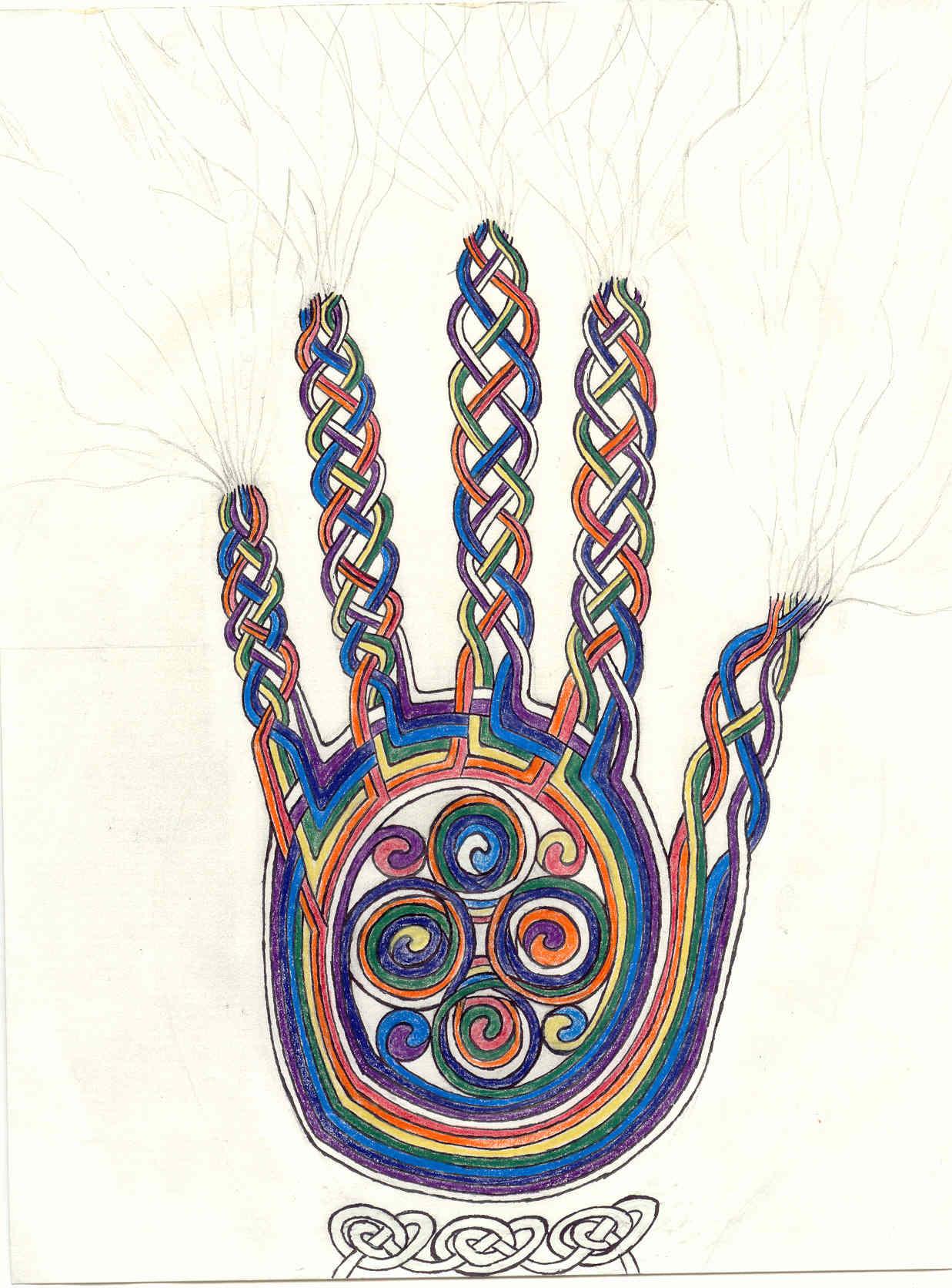 Healing Hand by Adam Rindfleisch