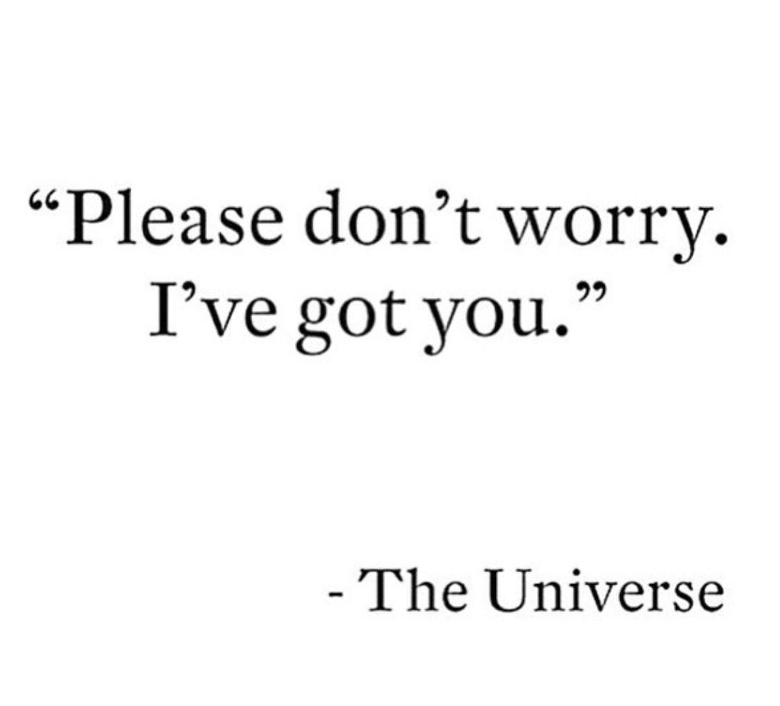 Please don't worry, I've got you.