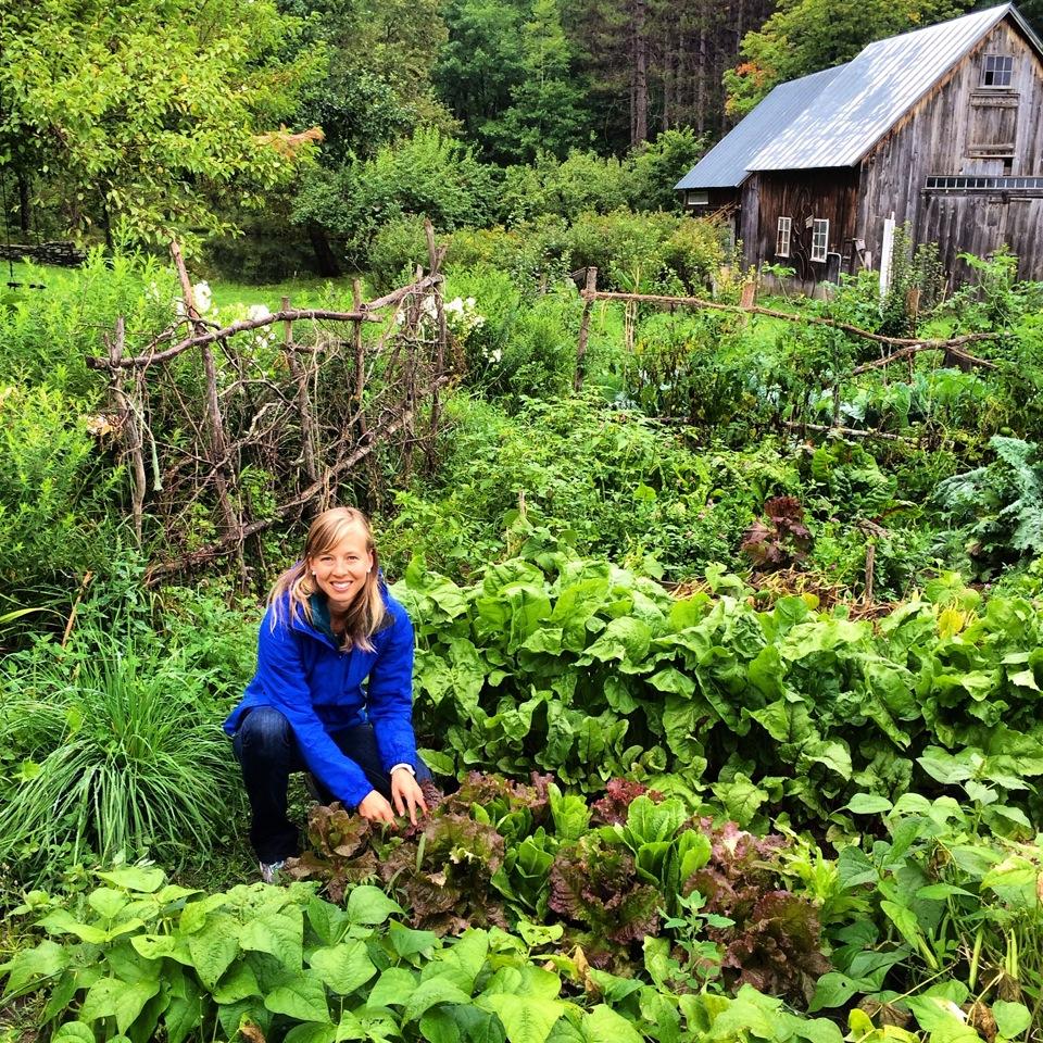 Zoe in Garden