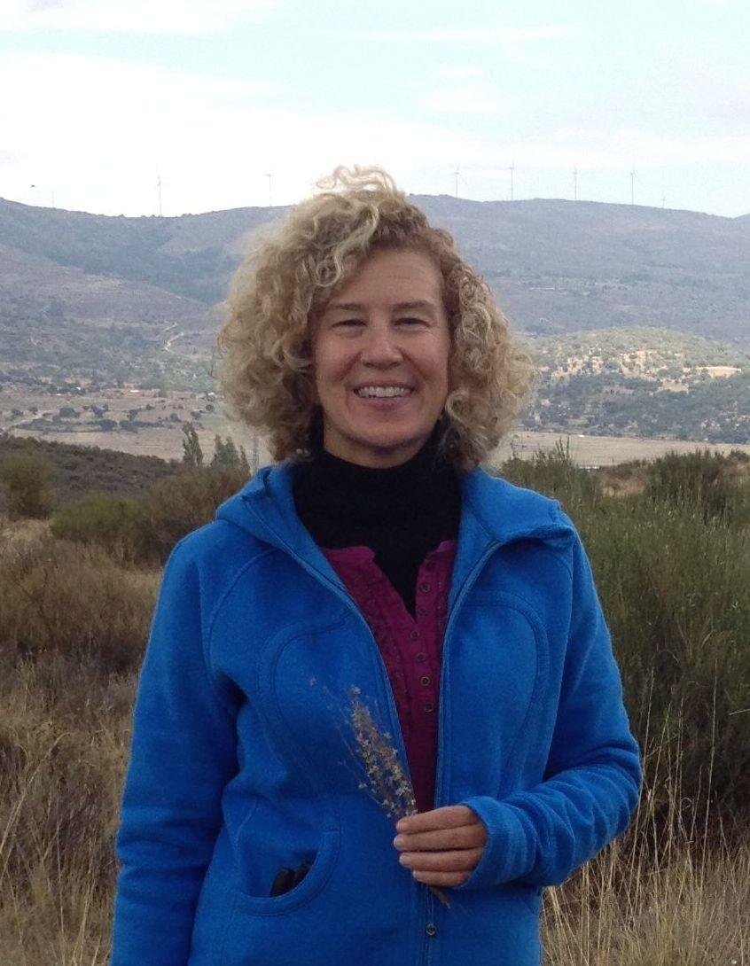 Kathryn in Ávila, Spain