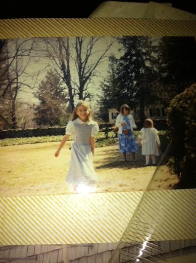Maia in 1988, age 6