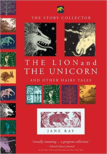 Photo The Lion and The Unicorn book Jane Ray