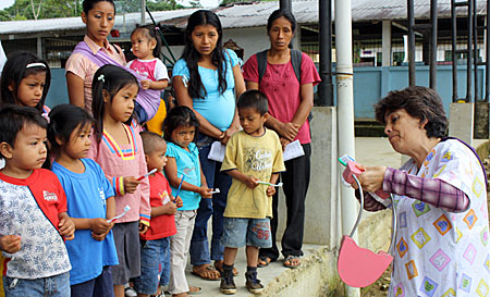 Photo Children's Oral Health and Nutrition Project. 2 jpg