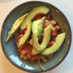 Chickpeas and avocado Nancy Coppelman
