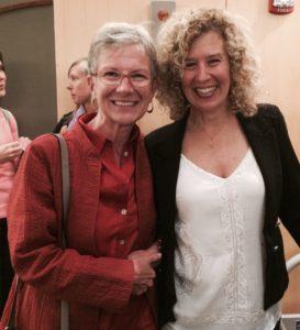 Nancy Coppelman and Kathryn Hayward