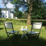 Tea for two in New England field Nancy Coppelman